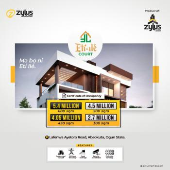 Plots of Land  with C of O Available in a Beautiful Location, Mile 2, Command Secondary School, Lafenwa Market, Abeokuta South, Ogun, Residential Land for Sale