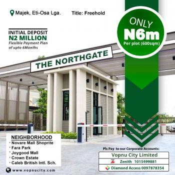 Affordable Estate Land, The North Gate Estate, Opposite Fara Park, Abijo, Ajah, Lagos, Mixed-use Land for Sale