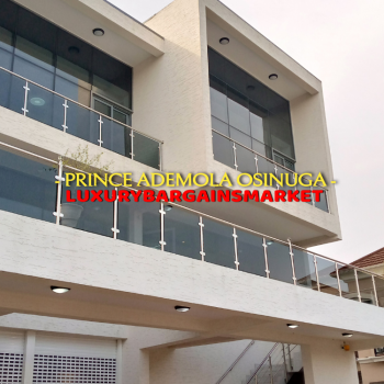 Multi Functional 4 Nos Newly Built Terraces + Pool + Gym, Banana Island, Ikoyi, Lagos, Terraced Duplex for Rent