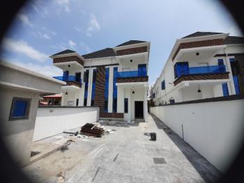 Captivating and Stunning 4 Bedroom Terrace Duplex in a Gated Estate, Agungi, Lekki, Lagos, Semi-detached Duplex for Sale