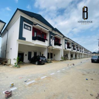 Serviced Contemporary Built 4 Bedroom Terrace Duplex, Just After 2nd Toll Gate By Chevron, Ikota, Lekki, Lagos, Terraced Duplex for Sale
