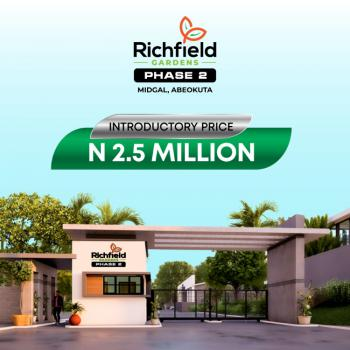 Land, Richfield Gardens Phase 2 Km 10, Abeokuta-lagos Expressway, Midgal, Abeokuta South, Ogun, Residential Land for Sale