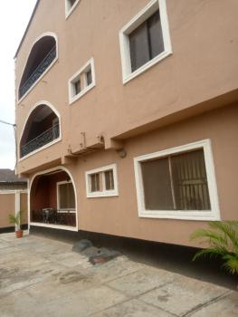 Spacious 4 Bedroom Flat with Pop, in an Estate, Off College Road, Ogba, Ikeja, Lagos, Flat / Apartment for Rent