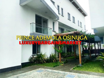 Direct Cash Ready Clients Only - Fresh 3 Bedroom Terrace House, Estate, Banana Island, Ikoyi, Lagos, Terraced Duplex for Rent