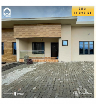 Luxury 2 Bedrooms Terraced Bungalow, Ibonwon, Epe, Lagos, Terraced Bungalow for Sale