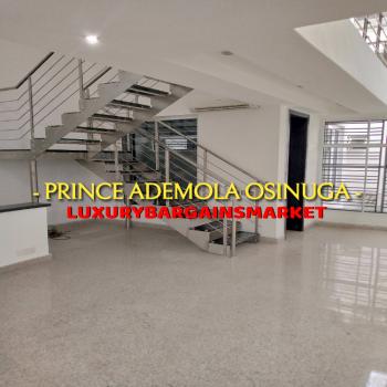 Large Semi Detached House on 3 Floors, Ikoyi, Lagos, Semi-detached Duplex for Rent