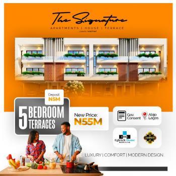 The Signature Terrace, Homes and Apartment, Sunday Ejiofor Street, Green Park Scheme Opposite Corona School, Abijo, Lekki, Lagos, House for Sale