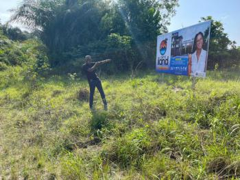 Very Affordable Land, 5 Mins Drive on Boat Cruise From Omu Resort., Eleranigbe, Ibeju Lekki, Lagos, Residential Land for Sale