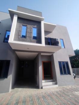 24 Hours Serviced 4 Bedrooms, Agungi, Lekki, Lagos, Terraced Duplex for Rent