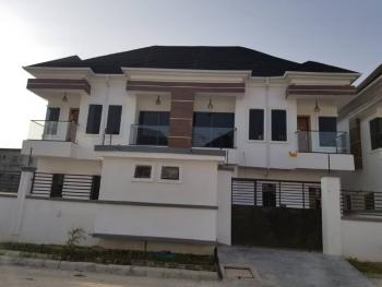 Newly Built 4 Bedroom Semi Detached Duplex with a Room Bq, Orchid Road By Tollgate, Lekki Phase 2, Lekki, Lagos, Semi-detached Duplex for Rent