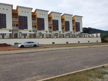 Brand New & Well Finished 4 Bedroom Terrace Duplex with Bq, By Aduive International School, Jahi, Abuja, Terraced Duplex for Sale