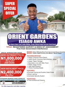 Cheap Land, Azu Ngene Ugwu Land Enuko Village, Isiagu, Awka, Anambra, Residential Land for Sale