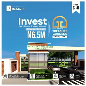 Richfield Treasure Gardens, Lekki Free Trade Zone, Lekki, Lagos, Residential Land for Sale