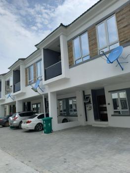 4 Bedroom Terrace House No Bq, Orchid Road, Lafiaji, Lekki, Lagos, Terraced Duplex for Sale