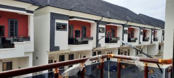 Elegant, Magnificent & Desirable 4 Bedroom Terrace, Between Chevron & Vgc, Lekki, Lagos, Terraced Duplex for Sale