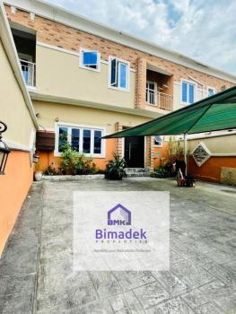 Massive 4 Bedroom Semi Detached Terrace with Parking Space, Osapa, Lekki, Lagos, Semi-detached Duplex for Sale