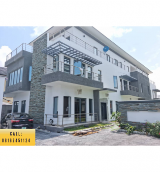 The Best Pay and Pack in 4 Bedroom Terrace Duplex with Bq, Oniru, Victoria Island (vi), Lagos, Terraced Duplex for Sale