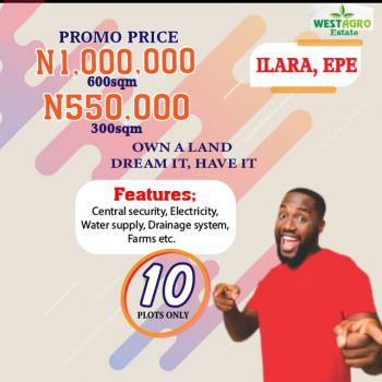 Farm Investment, Westagro Estate Facing The Ilara Road,epe. 2 Mins From St. Augustine University, Epe, Lagos, Mixed-use Land for Sale