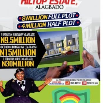 3 Bedroom Bungalow, Akola Command, Alagbado, Ifako-ijaiye, Lagos, Detached Bungalow for Sale
