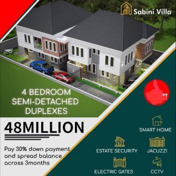 Luxury 4 Bedroom Semi Detached Duplex, Addo Road, Sabini Villa, Ajah, Lagos, Semi-detached Duplex for Sale