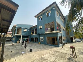 Distress 9 Bedroom Mansion All Rooms Ensuite +bq 3 Living Room +3 Pent, 3 Floors (penthouse Included) - 3 Living Rmsoff Ago Palace Way, Okota, Okota, Isolo, Lagos, Detached Duplex for Sale