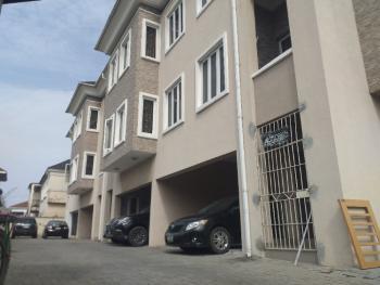 Luxury 4 Bedroom Terrace Duplex with Room Bq, Lekki Phase 1, Lekki, Lagos, Terraced Duplex for Rent