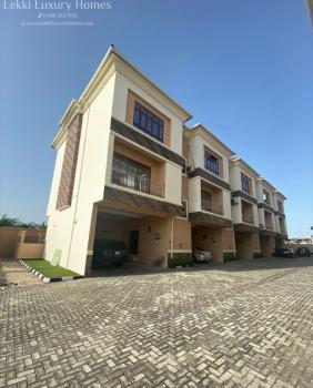 Well Built 4 Bedroom Terrace Duplex with B.q, Osapa, Lekki, Lagos, Terraced Duplex for Rent