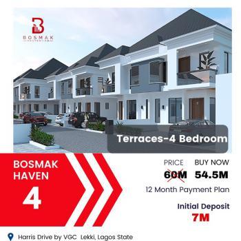 Luxury 4 Bedroom Terrace Duplex, Vgc, Lekki, Lagos, Terraced Duplex for Sale