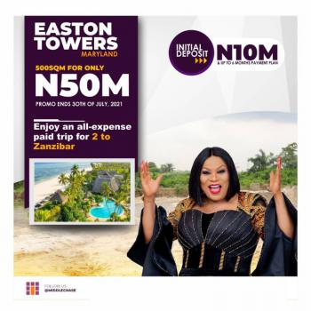 Affordable Land, Easton Towers Estate, Maryland, Lagos, Mixed-use Land for Sale