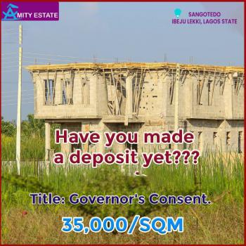 Buy and Build Land with Governor Consent, Sangotedo, Ajah, Lagos, Residential Land for Sale