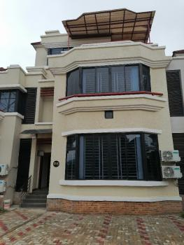 Serviced & Furnished 4 Bedroom with Bq, Wuye, Abuja, Terraced Duplex for Rent