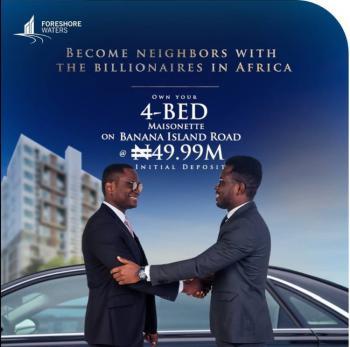 Luxury 4 Bedroom Maisonette, Ime Heights, Banana Island, Ikoyi, Lagos, Flat / Apartment for Sale
