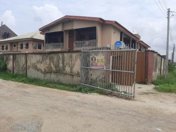 Solid Block of Four Flats on 680 Sq Mts Corner Piece Land, Alhaja Agbeke Street, Ago Palace, Isolo, Lagos, Block of Flats for Sale