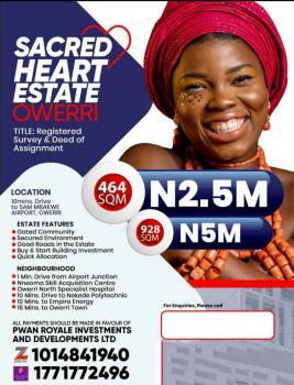 Affordable Plots of Land, Sacred Heart Estate, Ulakwo, Owerri North, Imo, Land for Sale