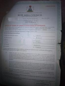 Residential Land, Area Council, Kuje, Abuja, Residential Land for Sale