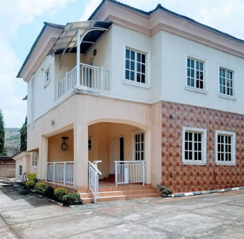 4 Bedrooms Duplex with 2 Rooms Bq for Office., By Aso Radio, Katampe (main), Katampe, Abuja, Detached Duplex for Rent