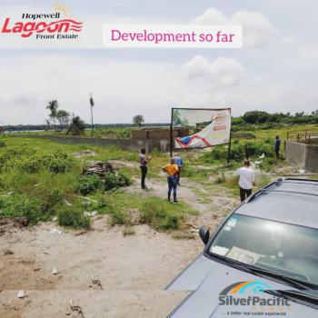 Get an Excellent Luxury Land Facing The Lagos Lagoon By Freezone Road., Topnotch 100% Dry Land with Good Title, Enjoy The Lagoon View, Lepia, Ibeju Lekki, Lagos, Mixed-use Land for Sale