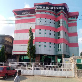 Luxury Hotel & Suites, 25 Rooms, Halls, Lift, Swimming Pool, Conference Hall, Ajao Estate, Isolo, Lagos, Hostel for Sale