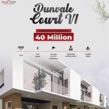 Dunvale Court. 3 Bedroom Terrace, Orchid Hotel Road, Lekki, Lagos, Terraced Duplex for Sale