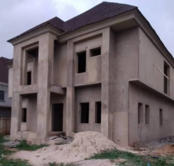 Uncompleted 5 Bedroom Duplex with Space for Bq, Efab Metropolis Estate, Gwarinpa, Abuja, Detached Duplex for Sale