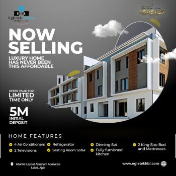 Own a Fully Furnished Penthouse, at The Signature Laurels, Atlantic Layout Estate, Abraham Adesanya, Ajah, Lagos, House for Sale