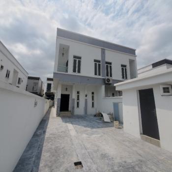 Very Large 5 Bedroom Semi Detached Duplex with Bq, Chevy View Estate,, Lekki, Lagos, Semi-detached Duplex for Sale