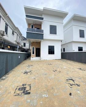 Newly Built & Very Spacious 5 Bedroom Fully Detached Duplex with a Bq;, Chevron, Lekki, Lagos, Detached Duplex for Sale