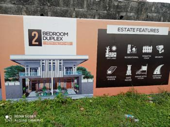 Luxury 2 Bedroom Semi Detached Duplex, Watchtower Road Behind Foodlicious Eatery, Bogije, Ibeju Lekki, Lagos, Semi-detached Duplex for Sale