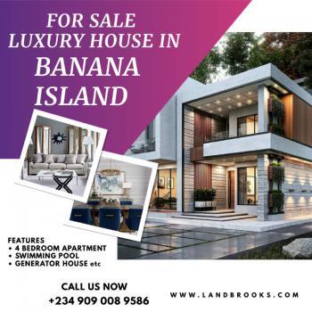 Very Spacious 4 Bedrooms Luxury Apartments, Banana Island Road, Banana Island, Ikoyi, Lagos, Flat / Apartment for Sale