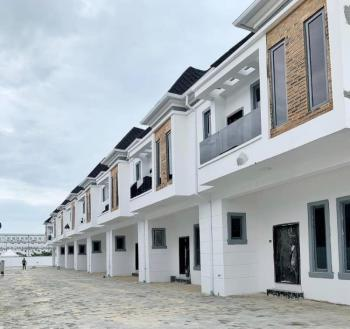 Beautiful 4 Bedroom Terrace with Bq in a Serviced Estate, 2nd Toll Gate, Lekki, Lagos, Terraced Duplex for Sale