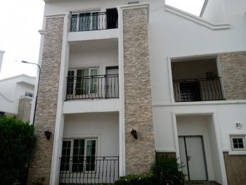 Luxury 4 Bedrooms Terraced Duplex with Bq, Diplomatic Zone, Katampe Extension, Katampe, Abuja, Terraced Duplex for Rent