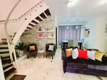an Exotic 4 Bedroom Weekends and Vacation Getaway Home, Olayinka Adewuyi  Street, U3 Estate, Lekki Phase 1, Lekki, Lagos, Semi-detached Duplex Short Let