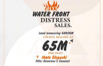 Waterfront Land, Few Minutes From Lekki Phase 1, Ikate Elegushi, Lekki, Lagos, Mixed-use Land for Sale