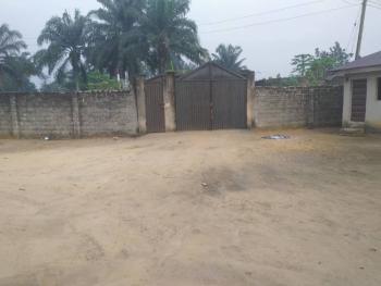 Massive Fenced & Gated 3 Plots of Land with 2 Bungalows, Sam Odemena Street, Umugo Town Around Nepa Office, Ugwunagbo, Abia, Mixed-use Land for Sale